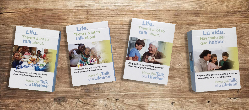 Have the Talk of a Lifetime Conversation Cards